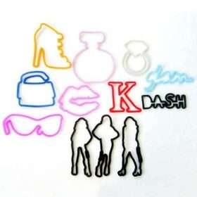 Kardashians Sillybandz Silly Bands Silicone Bracelets