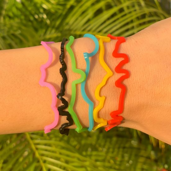 Paul Frank Sillybandz Sillybands Clancey, Tyrone, Steve, Skurvey, Ellie, and the famous Julius the Monkey Silicone Bracelets Crazy Bands