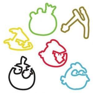 Angry Birds Sillybandz Silly Bands Silicone Bracelets
