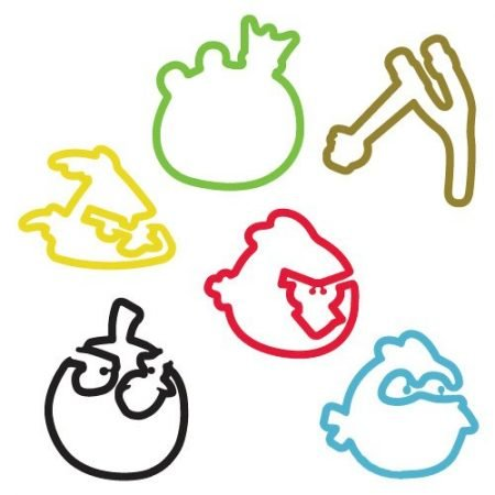 Angry Birds Sillybandz Silly Bands Silicone Bracelets