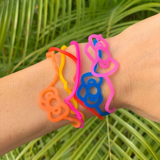 """Hello Kitty Cat Sillybandz Sillybands Hello KittyHead, Hello Kitty Standing, Bow,Hello Kitty Sitting, Apple, and """"HK."""" Cat Head, Kat Silicone Bracelets Crazy Bands"""