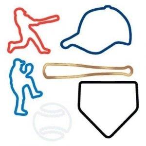 Baseball Sillybandz Silly Bands Silicone Bracelets