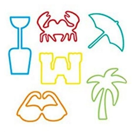 Beach Pack Sillybandz Silly Bands Silicone Bracelets