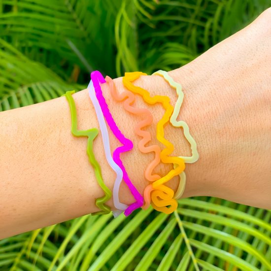 Save the Gulf Sillybandz Sillybands coral reef, dolphin, sego, lobster, pelican, turtle, sea turtle Silicone Bracelets Crazy Bands