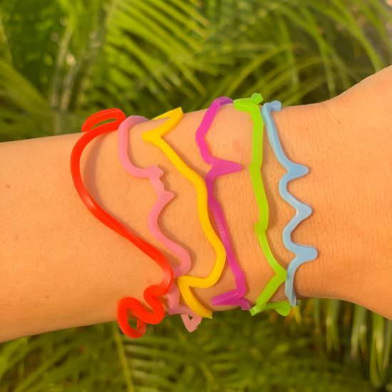 Chat Sillybandz Sillybands LOL, TTYL, BFF best friend OMG, kk, chat, talk, texting, text, phone, @ Silicone Bracelets Crazy Bands