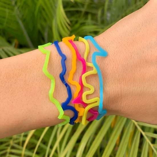 Buy iCarly Sillybandz Sillybands Carly, Sam, Freddie, BRB, LOL, and TTYL Silicone Bracelets Crazy Bands