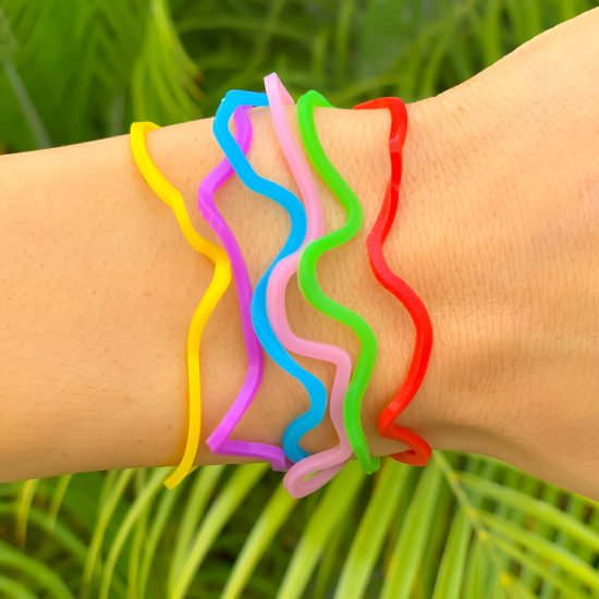 Zoo Animals Sillybandz Sillybands colorful giraffes, flamingos, elephants, hippos, kangaroos, and rhinos Silicone Bracelets Crazy Bands