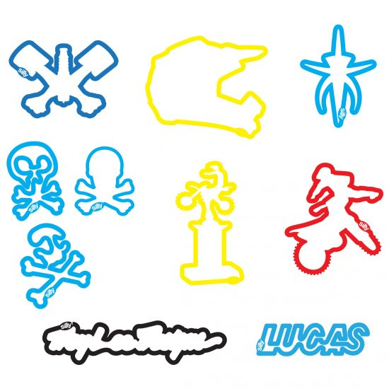 Buy Troy Lee Motocross Sillybandz Silly Bands Trophies, Motocross bikes, Skullies, Troy Lee's Signature Silicone Bracelets Crazy Bands